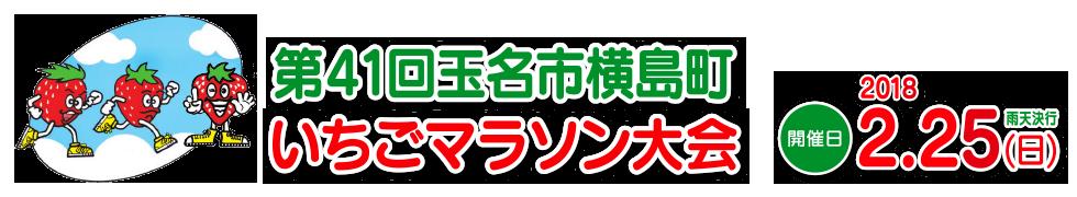 第41回玉名市横島町いちごマラソン大会